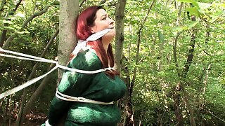 Hungarian Redhead Milf Srilled Outdoor