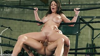 Gabbie Carter gets pounded hard