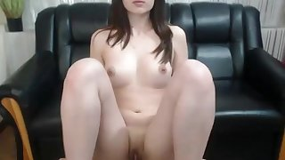 Young 18yo go steady with fingering her dripping pussy on webcam