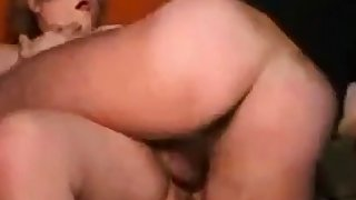 Mature Italian girl's threesome