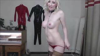 Hot blonde with big tits wants to abominate eaten up and fucked abiding by her daddy!