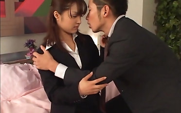 Amazing Mihiro fucks roughly a kinky guy until she reaches an orgasm