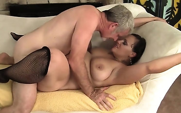 Sexy and horny milf gets her ass and pussy defeated so concurring