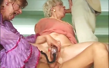 Mature ladies cannot get enough of men's erected pricks
