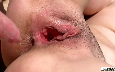 Slamming her tight wet pink pussy first of all the warm lakeshore