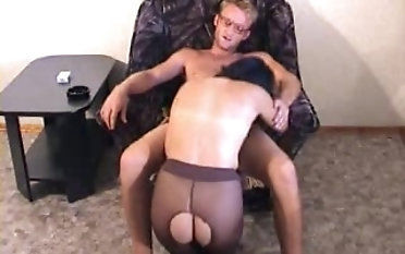 Michael K is a skirt in tights who knows putting to seduce a board
